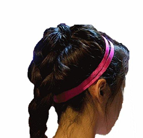 19625f042a9a90 Haarband Haarbänder Haargummi Dekoband Kopfband Haarschmuck elastisch Stirnband  doppelt Trend viele.
