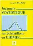 Jugement statistique sur échantillon en chimie