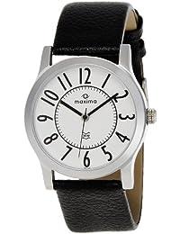 Maxima Avant Garde Analog White Dial Men's Watch - 28331LMGI