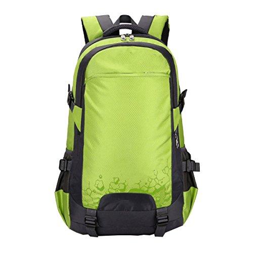 Borsa A Tracolla Yy.f Borsa Per Alpinismo Da Viaggio 35L Escursionismo All'aperto Borsa Borse A Tracolla Zaino Multifunzionale. Multicolore Green