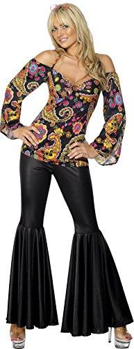 Smiffys Hippie Kostüm Damen - 2