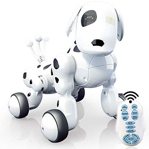Robot Puppy, Cucciolo elettronico interattivo per Cani da Compagnia - Cane parlante a Distanza parlante a Distanza, Animale Domestico del Robot per i Bambini/Ragazzi/Regalo delle Ragazze