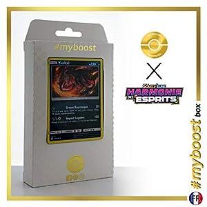 Yveltal 139/236 Holo - #myboost X Soleil & Lune 11 Harmonie des Esprits - Box de 10 cartas Pokémon Francés