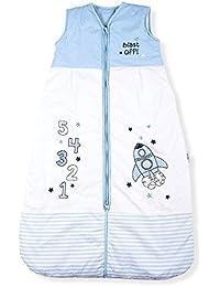 Sacos de Dormir para Bebé, Espacio Despegado, Kiddy Kaboosh Varios Tamaños Ligero, 0.5 Tog
