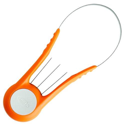 Chef´n 102-515-172 Scoop'n Slice Mango-, Früchteschneider, orange