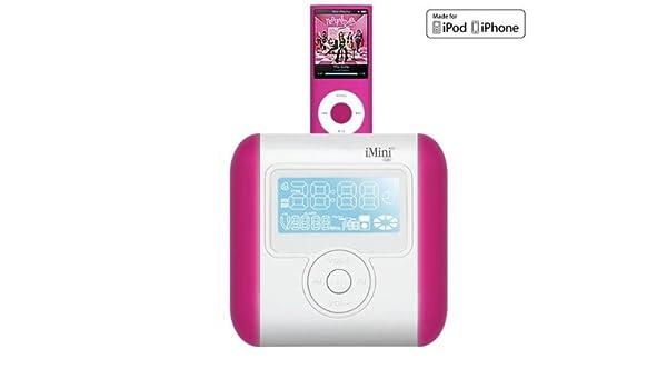 Ozaki imini cute2 travel ipod radio alarm clock | wirefresh.