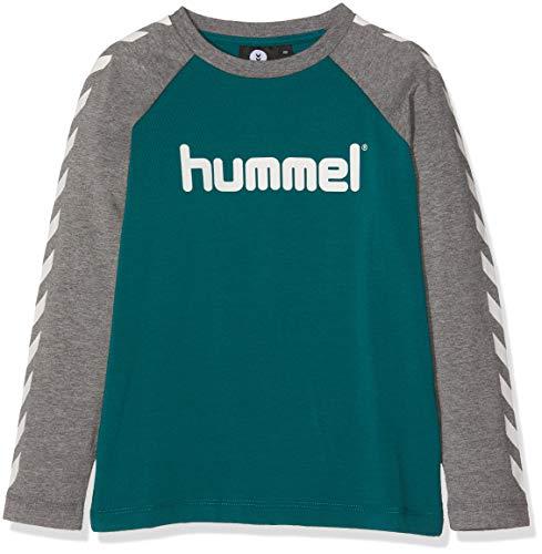 Hummel Jungen HMLBOYS T-Shirt L/S, Storm, 164