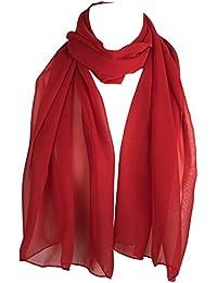 autentico 5a2f2 4d201 Amazon.it: sciarpa rossa: Abbigliamento