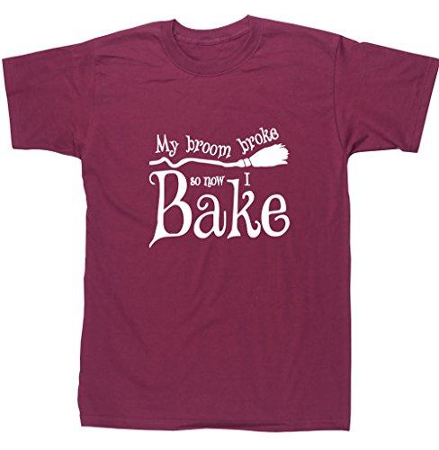 n T-Shirt Gr. Large, Kastanienbraun (Halloween-scones)