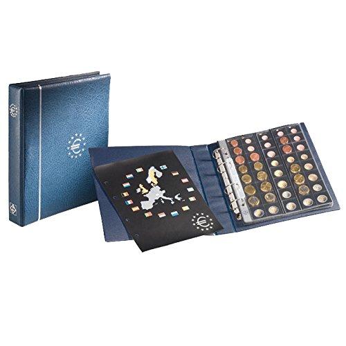 Leuchtturm 336883 Vordruckalbum Optima Münzalbum für 25 Euro-Kursmünzensätze