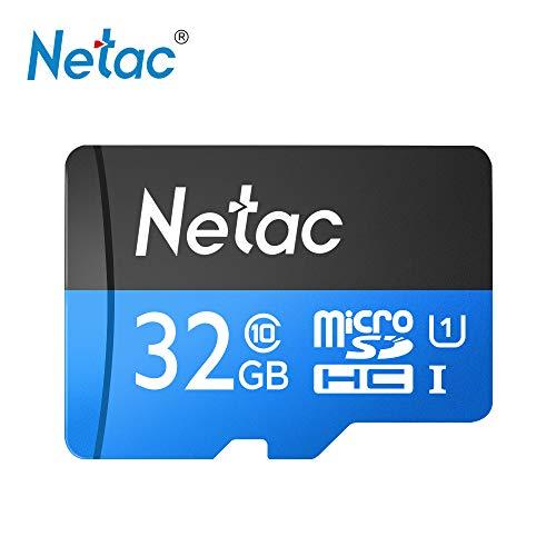 Docooler Netac P500 TF Flash Karte, 16 GB / 32 GB / 64 GB Klasse 10 Mini SD Karte Micro SDHC UHS-1 Bis zu 80 MB/s