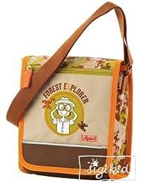 Sigikid 23674 - Kindergartentasche, Forest Explorer, Größe 22 x 20 x 8 cm