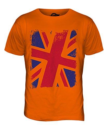 CandyMix Großbritannien Union Jack Herren T Shirt Orange