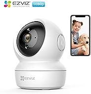 EZVIZ C6N, 1080p WiFi Smart Home Security Camera, Intelligent Surveillance Camera with Night Vision, Smart Tra