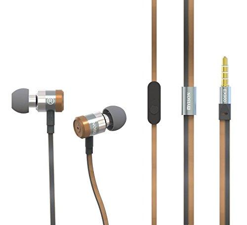 Yison LG Stylo 2/LG L5000 Metal Series EX900 Super Bass Bronze in Ear Kopfhörer Kopfhörer mit Mikrofon & Lautstärkeregelung Geeignet für -