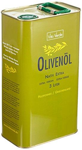 Vita Verde Olivenöl nativ extra, 1er Pack (1 x 3 kg) - 5