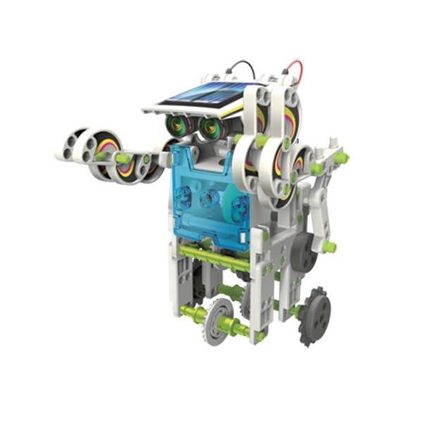 41li3QiJ31L. SS600  - itsImagical 14X1 Eco-Robot - Kit para construir robots solares, unisex