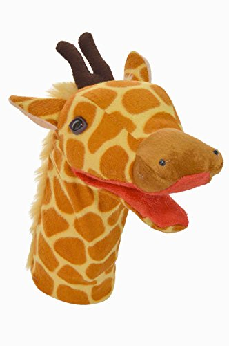 Cuddly Toys Giraffe Hand Puppet (Mouth Movement) 12 inch