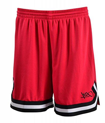 K1X wmns hardwood ladies double x shorts rot/schwarz