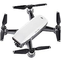 DJI Spark Fly More Combo - Dron cuadricóptero (full hd, 12 mpx, 50 km/h, 16 minutos), Blanco + accesorios