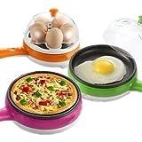 Pink Pari Electric Egg Boiler Egg Cooker Egg Boiler Egg Steamer Egg Cooker With Measuring Cup & Steel Bowl