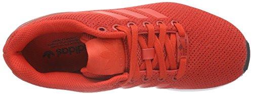 adidas ZX Flux, Chaussures de course homme rouge/blanc