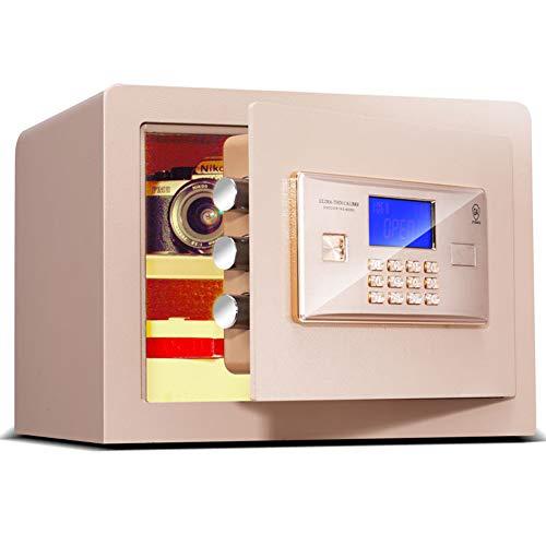 Caja Fuerte de Seguridad Cerradura de Teclado Electrónica Sólida, para Oficina o...