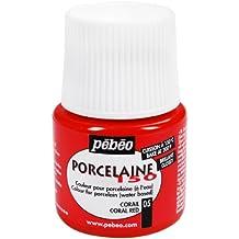 Pebeo 024-005 Colore Per Porcellana, Rosso