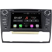 TOPNAVI 7inch 1024*600 Android 5.1.1 Car DVD Player for BMW 3 Series E90 E91 E92 E93 2006-2011 Auto GPS navigation Wifi Bluetooth Radio 1.6 GB CPU Rockchip RK3188 Cortex A9 DDR3 Capacitive Touch Screen 3G car stereo audio Phonebook RDS AUX DVR Mirror Link 16GB Quad Core