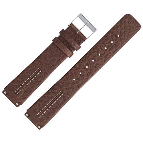 Skagen Uhrenarmband 18mm Leder Braun - 433LSL1 (Skagen Band-ersatz)