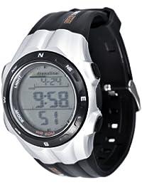 Freestyle AD50674 - Reloj digital de cuarzo para hombre con correa de caucho, color naranja