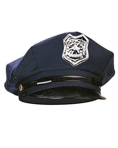 Horror-Shop Blaue Polizei Mütze