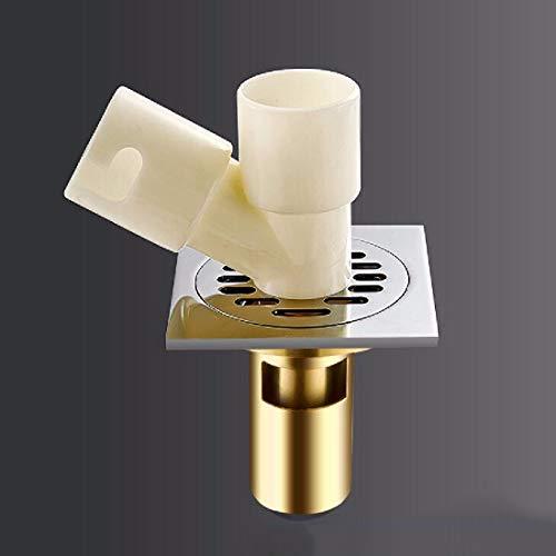 CJSHV Bodenablauf Badezimmer Abfluss Kupfer Geruchshemmenden Antiken Bad Zimmer Dusche Kern Waschmaschine Dreier Toilette Kanalisation Boden Gully Hoch,B5 -