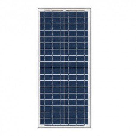 Placa Solar Fotovoltaico 30W en silicio policristalino, ideal para abastecer a campistas, barcos, cabañas, casas de campo, sistemas de videovigilancia, puentes de radio, etc.  Características generales:  12V -Sin conexión a la redLos paneles Off Gr...