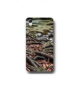 YuBingo HTC Desire 728 Dual Sim :: HTC Desire 728G Dual Sim Designer Phone Back Case Cover ( Waterfall in Jungle )