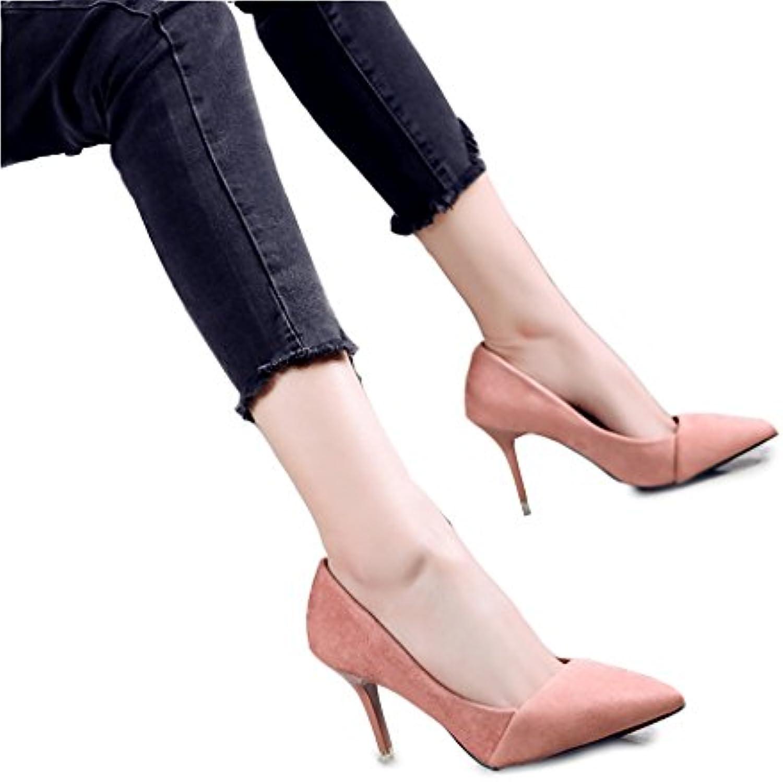 Il Coloreeee rosa con gli alti talloni talloni talloni ha indicato le scarpe ( Coloreee   rosa , dimensioni   34 ) | Shop  6cb269