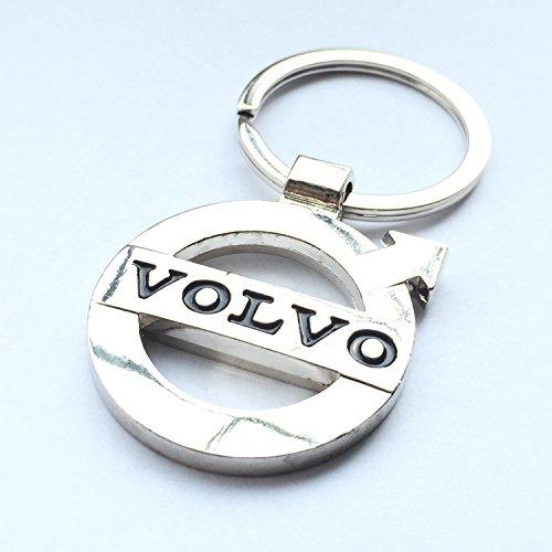 itech-r-volvo-chrome-metal-car-logo-keyring-key-fob-keychain