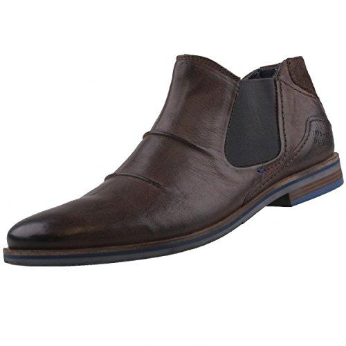 bugatti-312173313200-botas-chelsea-para-hombre-gris-grey-40-eu