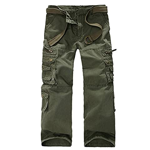 Roludom - Costume - Relaxed - Homme noir Vert militaire 31