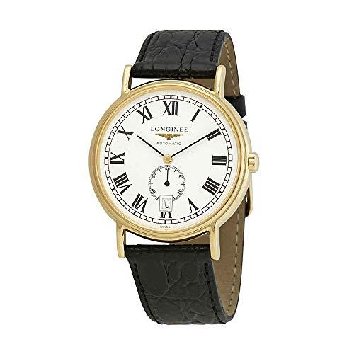 Longines Presence L4.805.2.11.2 - Reloj automático con Esfera Blanca para Hombre