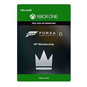 Forza Motorsport 6: VIP Membership  [Xbox One – Download Code]