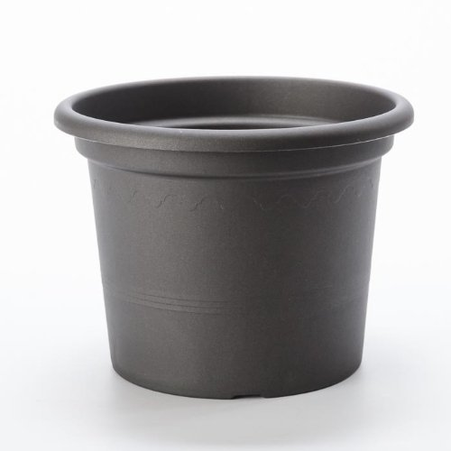 Pot GEO anthracite diam 30 cm