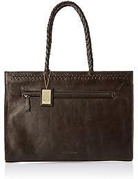 Hidesign Juno 03 Brown Leather Tote Bag Handbag