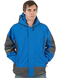 New Mens Location Goggle Rain Hooded Jacket Technical Waterproof Winter Coat