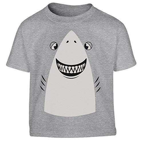 Weißer Hai Halloween Kostüm Kleinkind Kinder Jungen T-Shirt 118/128 (6-8J) - Shark Kleinkind Und Kinder Kostüm