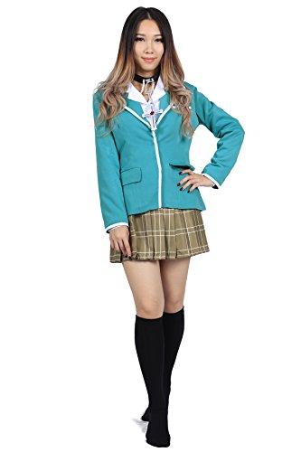 De-Cos Rosario to Vampire Yokai Private Academy Uniform Akashiya Moka (Rosario Vampir Kostüm)