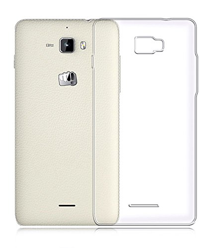 Stromax High Quality Ultra Thin Transparent Silicon Back Cover For Micromax Canvas Nitro A310  available at amazon for Rs.125