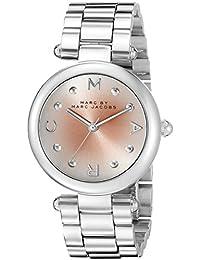 Marc Jacobs Damen-Armbanduhr Analog Quarz Edelstahl MJ3447