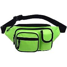 MIER Escursione del pacchetto della vita del corridore Fanny Pack Outdoor Bum Travel Bag Pouch Pack per uomini e donne