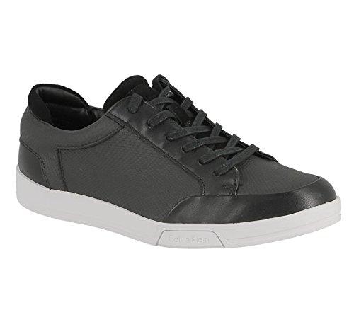 Calvin Klein Balin embossed lea calf smooth black f1719 blk